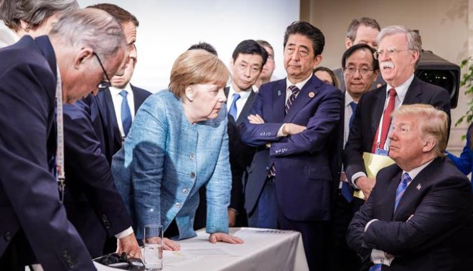 Scott Rouse - Body Language Expert - Speaker - Trump - G7 - Arms Crossed - Arms Crossed Means More Than One Thing